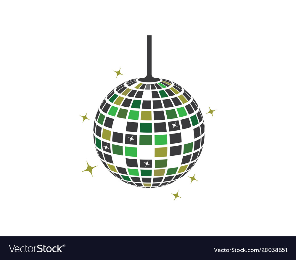 Disco ball icon design