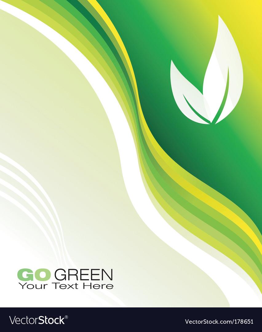Environmental business card royalty free vector image environmental business card vector image colourmoves