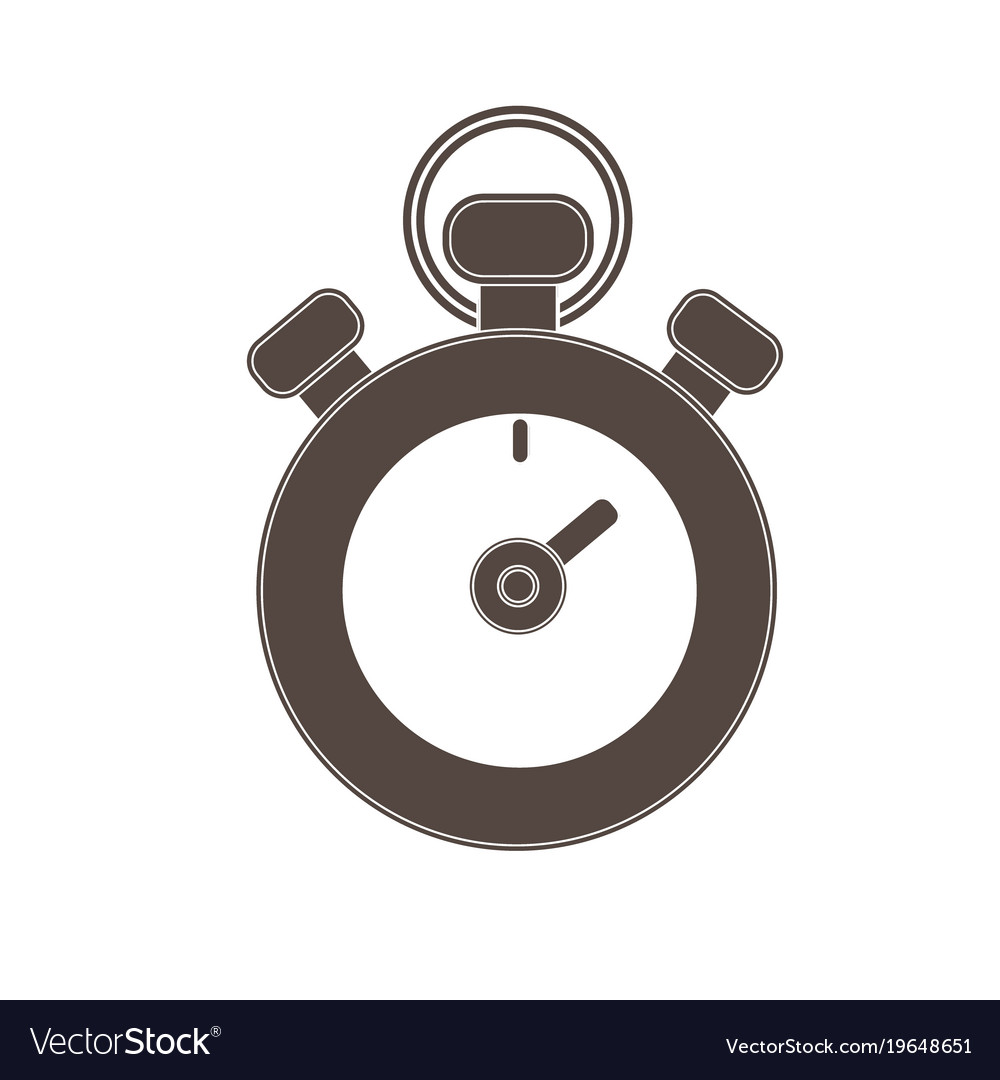 Stopwatch isolated icon