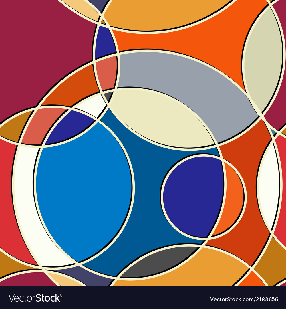 Abstract geometric seamless texture