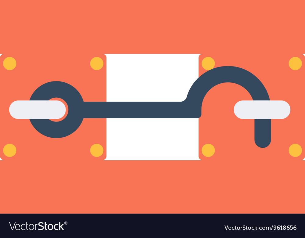 Lock icon isolated on white