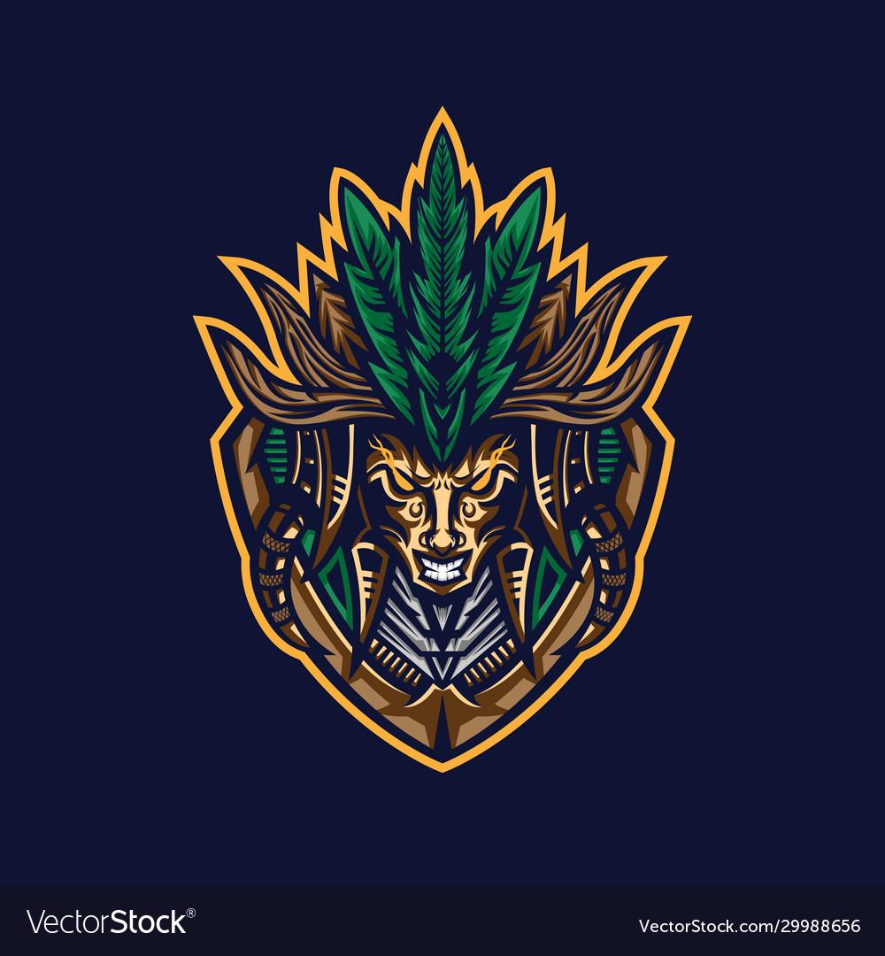 Tribe tribal mascot logo