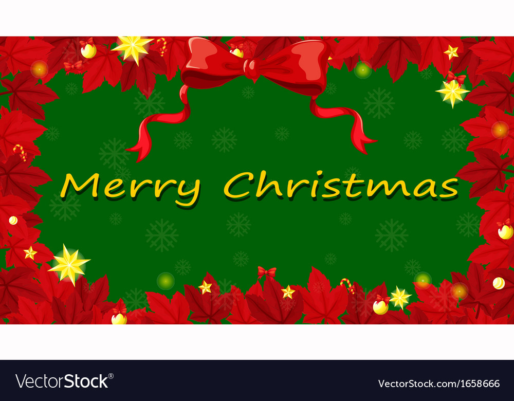 Free Christmas Card Templates.A Red And Green Christmas Card Template
