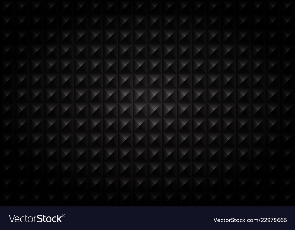 Abstract of gradient black square geometric