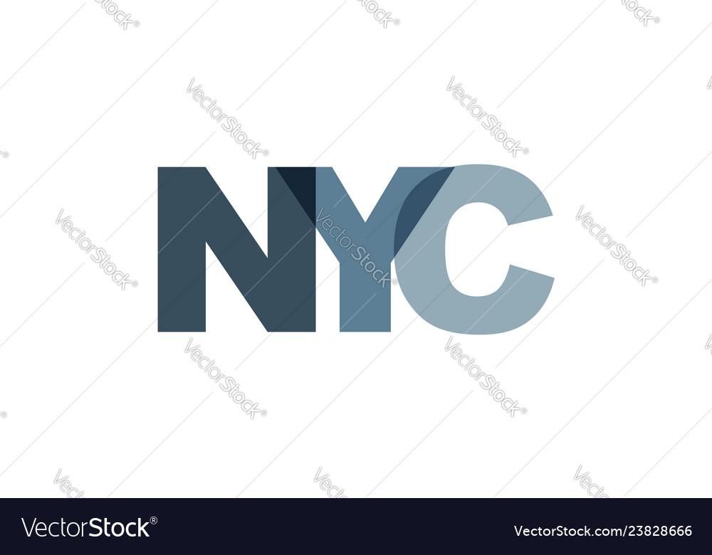 New york city phrase overlap color no