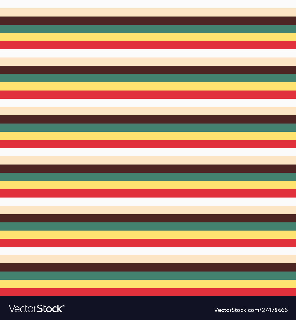 Trendy colorful stripes seamless pattern