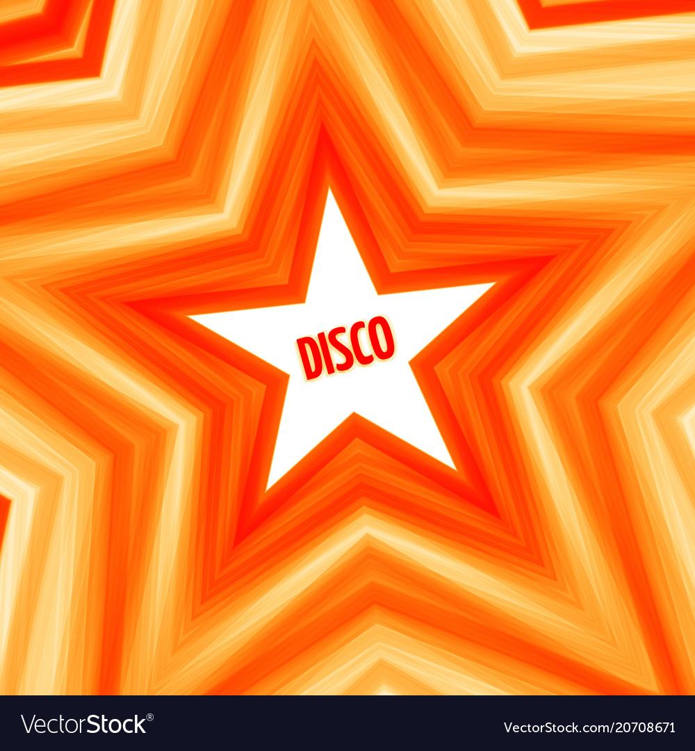 Disco star background