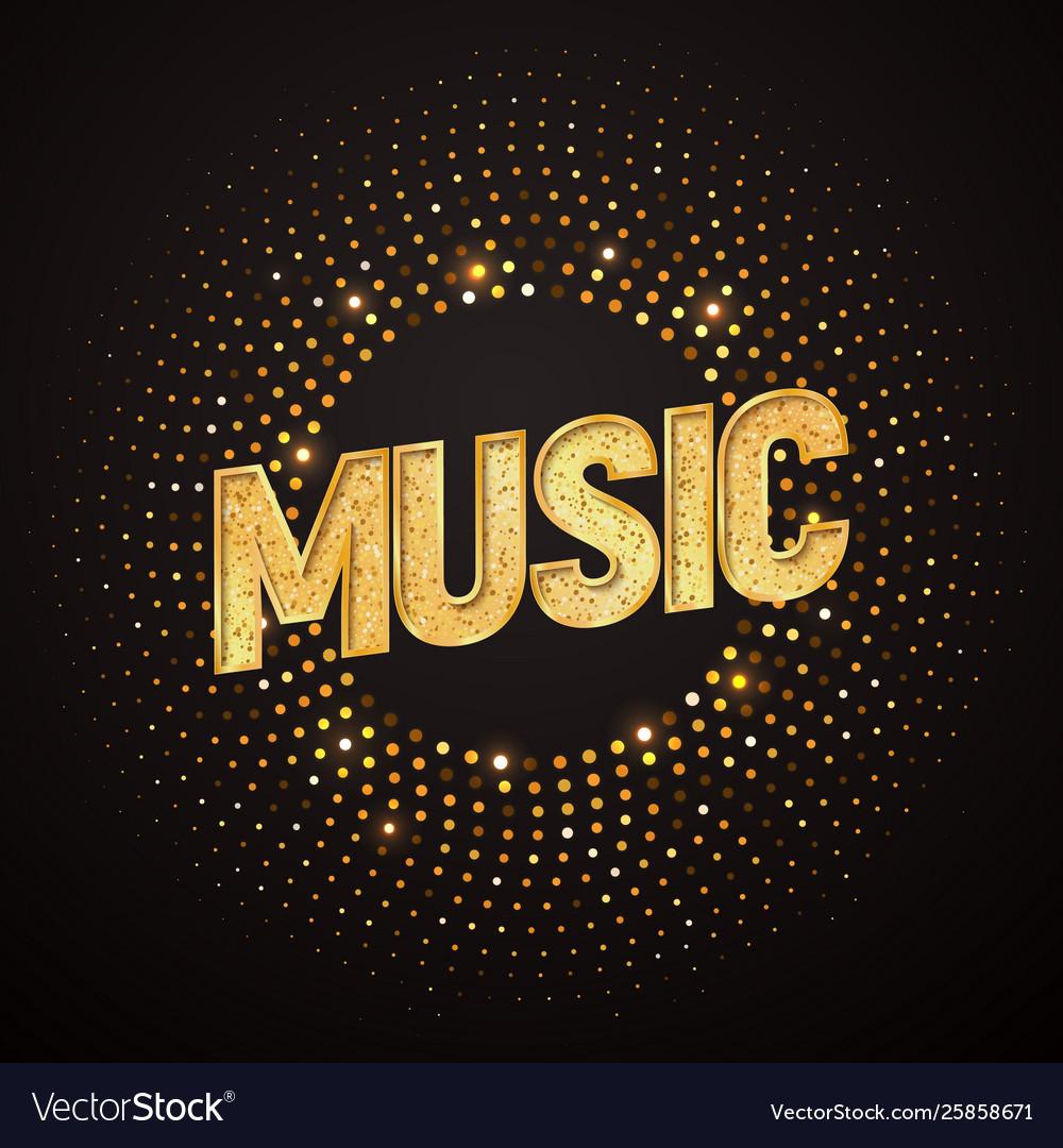 Music logo design element isolated musical
