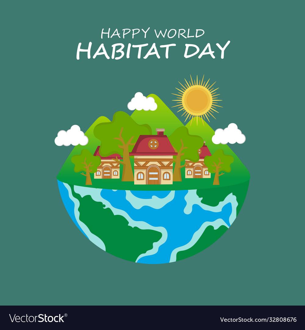 For world habitat day