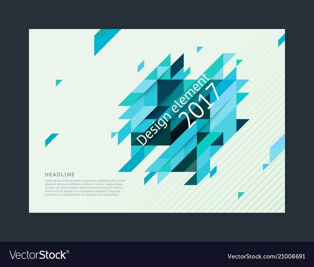 Cover design template creative concept