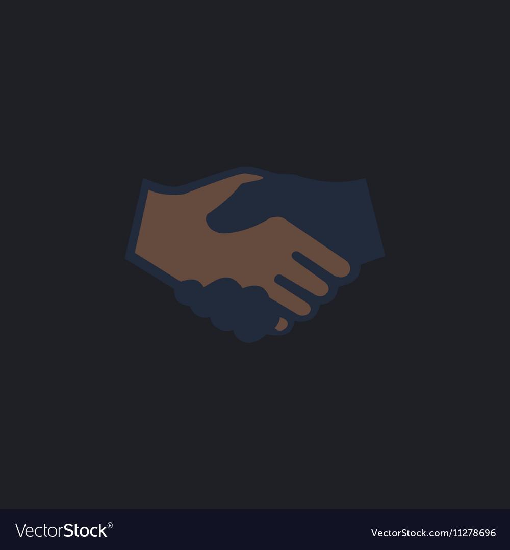 Handshake computer symbol