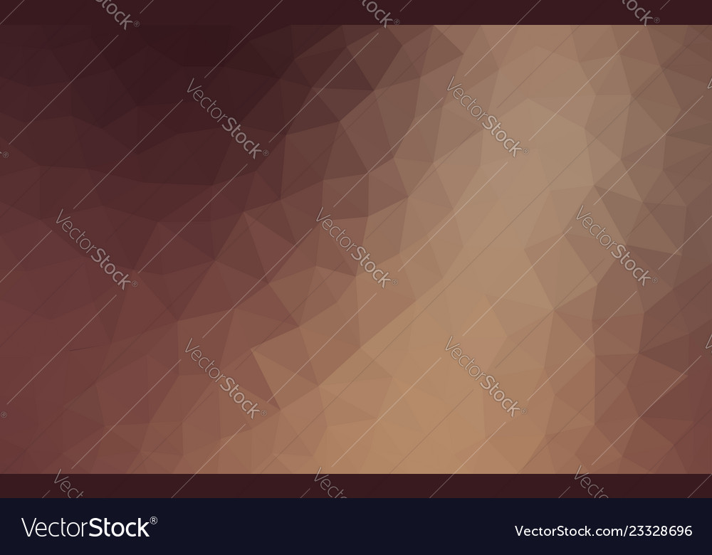 Light brown low poly background abstract crystal
