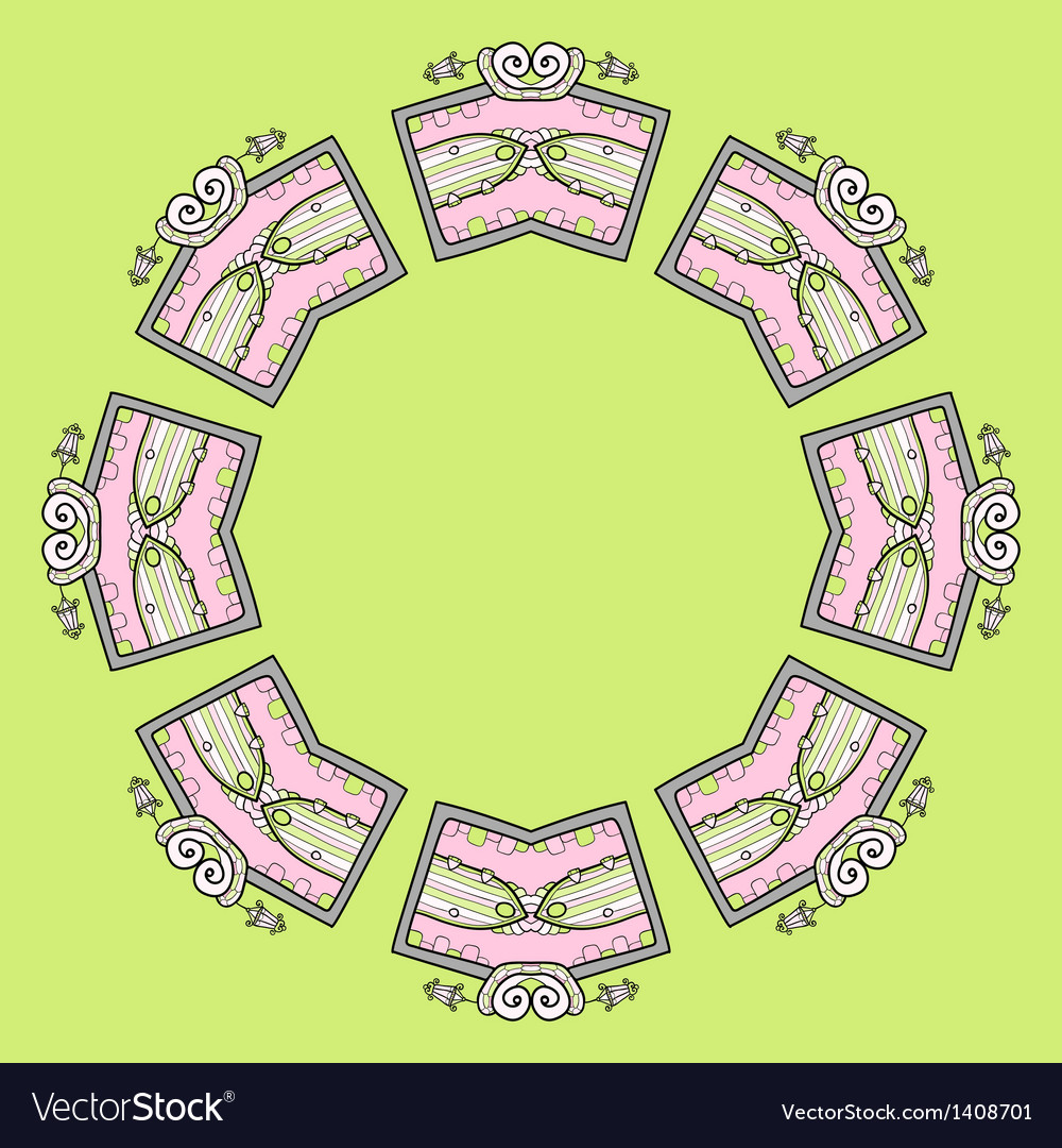 Circular ornament design