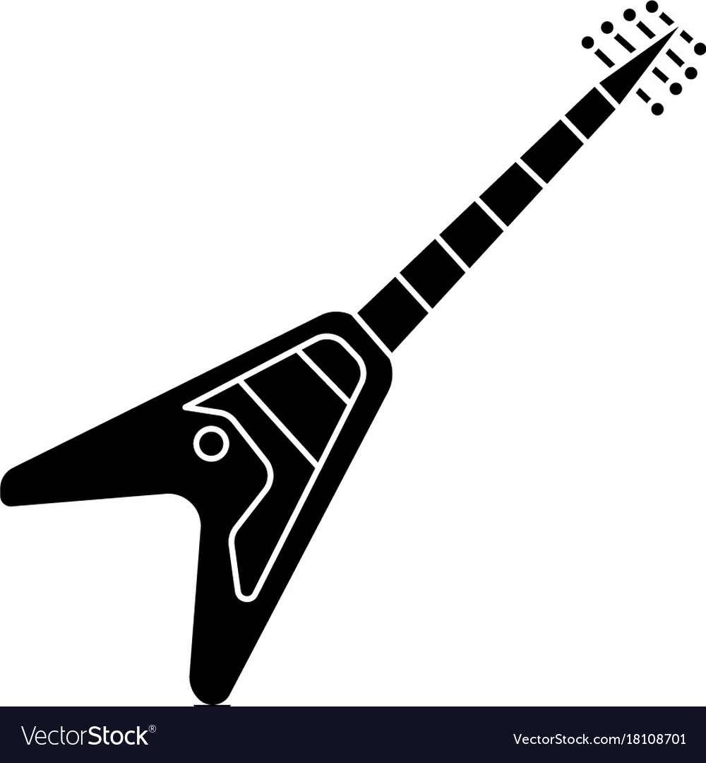 Guitar electric - electricguitar icon