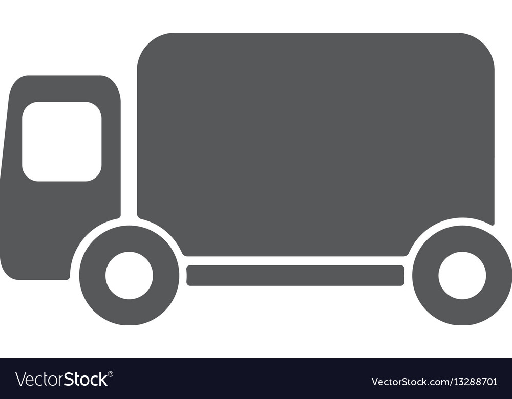 Truck icon eps10 vector image