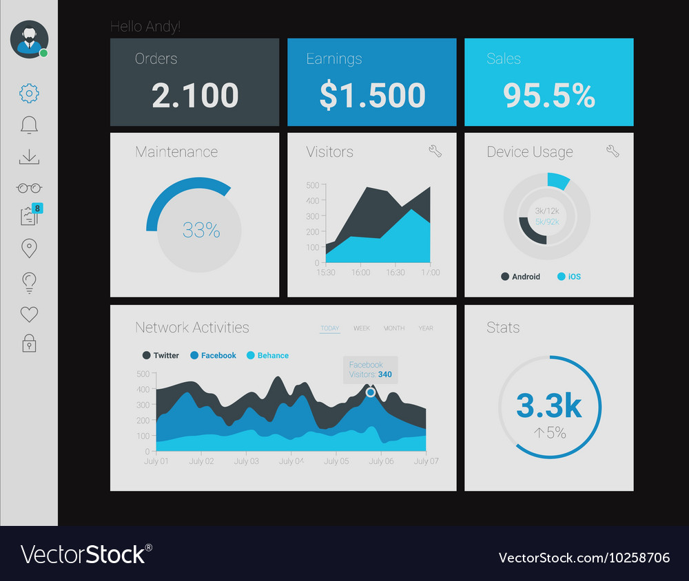 Admin App Dashboard