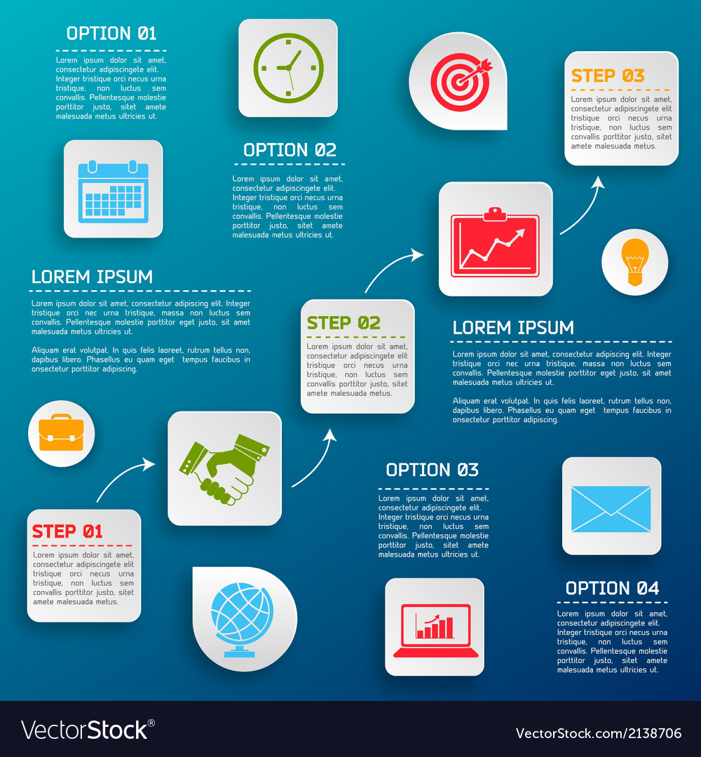 Business infographic options