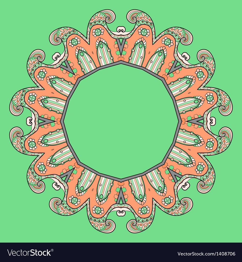 Circular ornament design