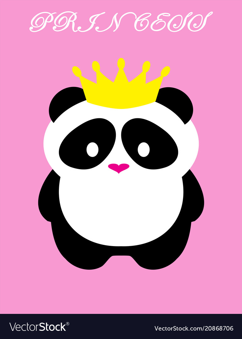 Panda bear princess