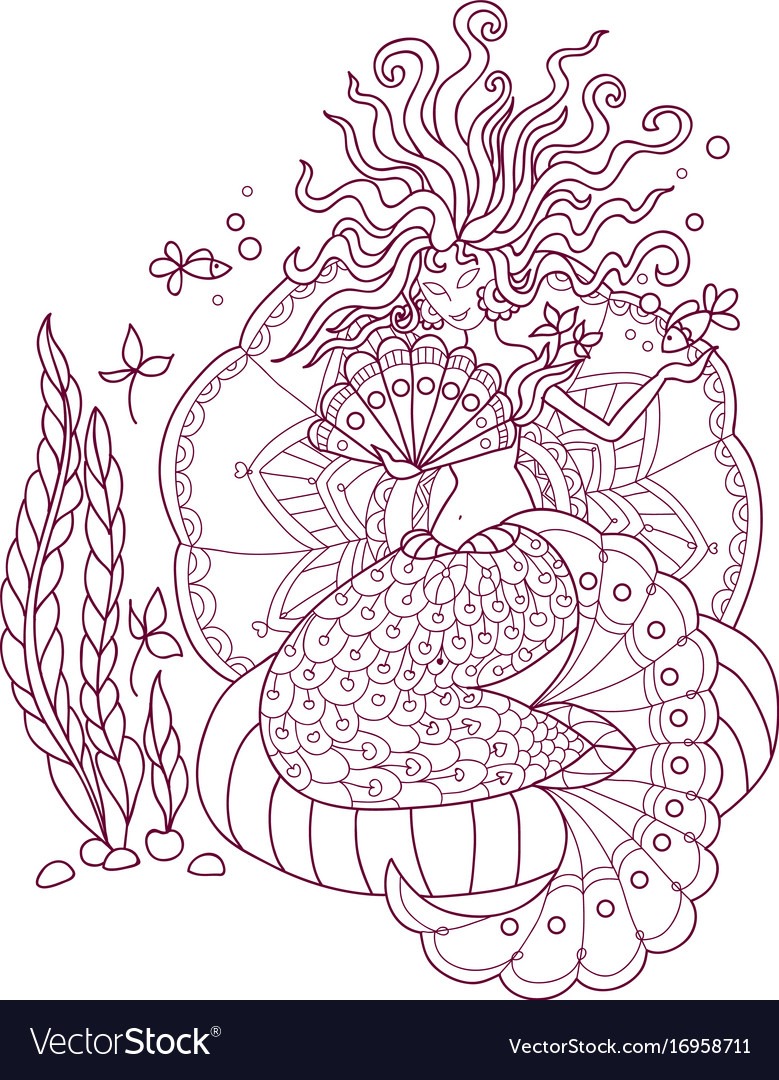- Antistress Coloring Pages Royalty Free Vector Image