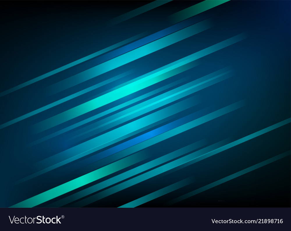 Abstract blue background with light diagonal lines