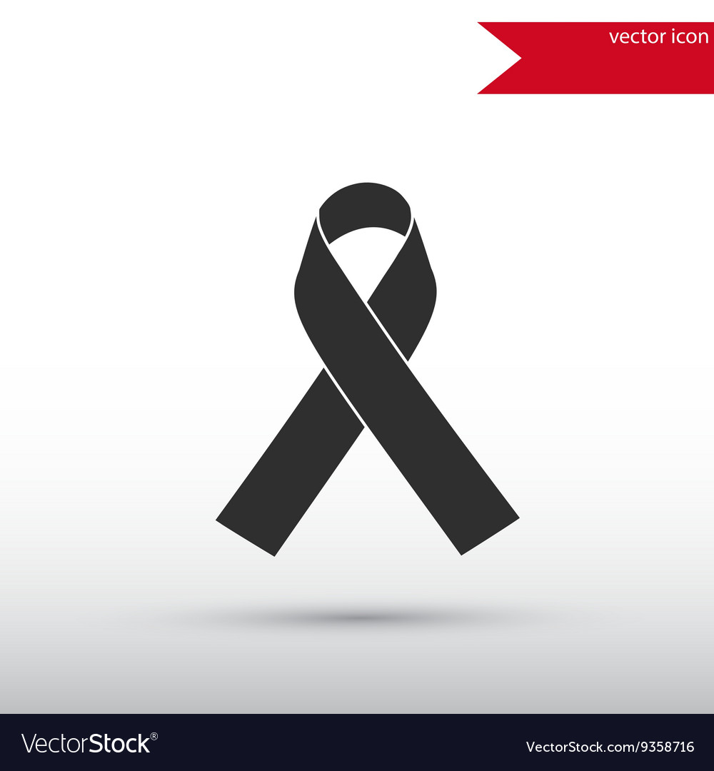 AIDS awareness ribbon icon