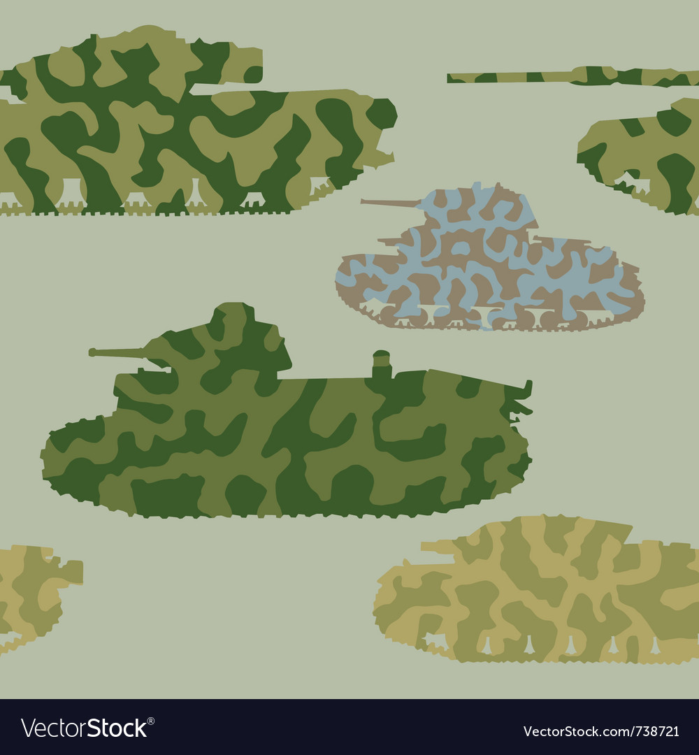 Abstract seamless background with tanks
