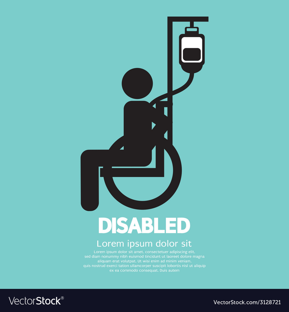 Disabled Sickness Sign