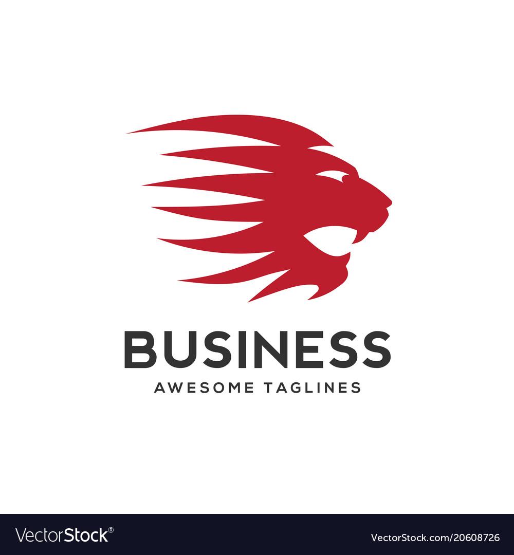 Best lion head logo