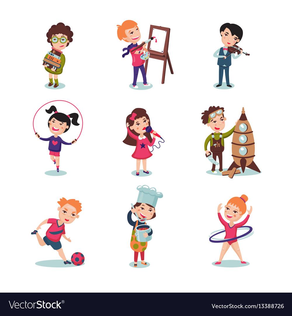 Хобби картинки детские