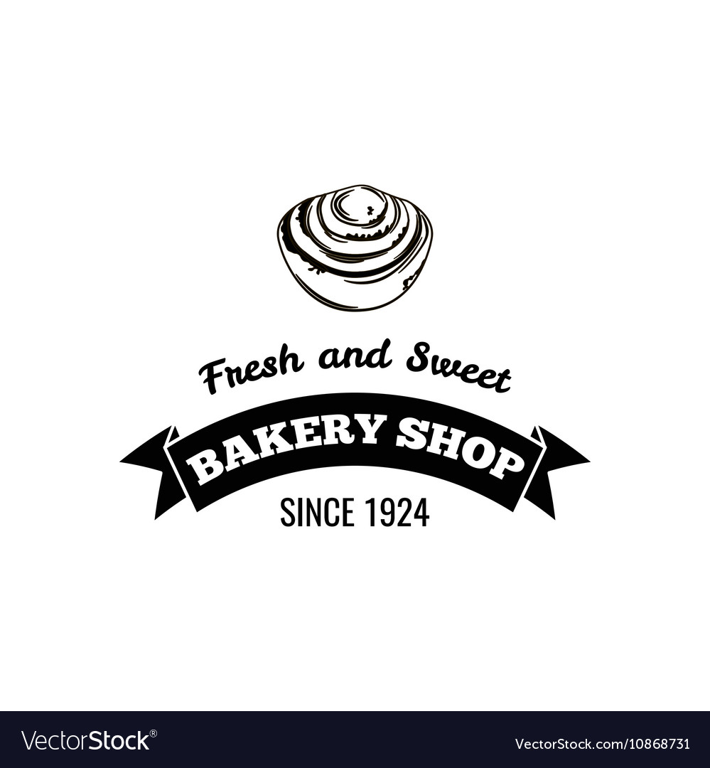 Bakery shop Fresh and sweet Logo Badge