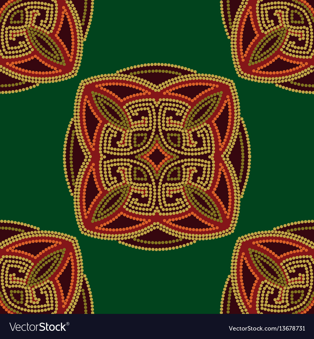 Colourful ethnic seamless pattern background