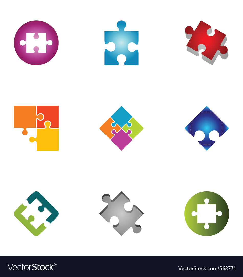 Logo design elements set 43