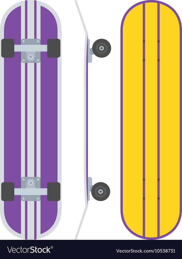 Skatedboard Desk Set