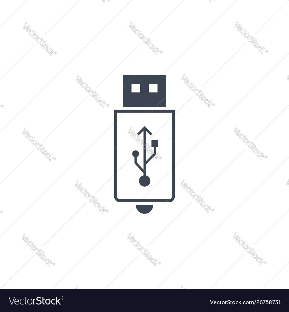 Usb related glyph icon