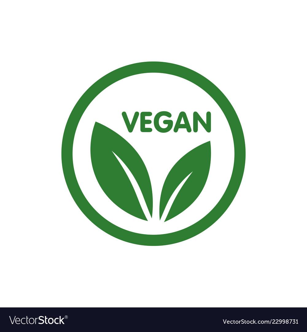 Vegan bio ecology organic logo