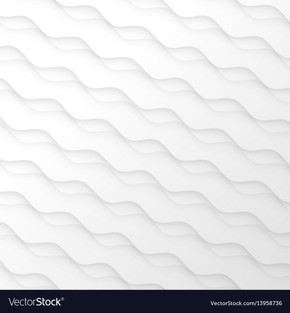 Abstract pattern seamless white texture wave