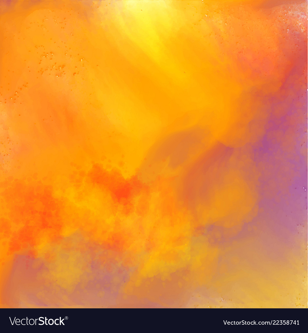 Abstract Colorful Watercolor Texture Background Vector Image