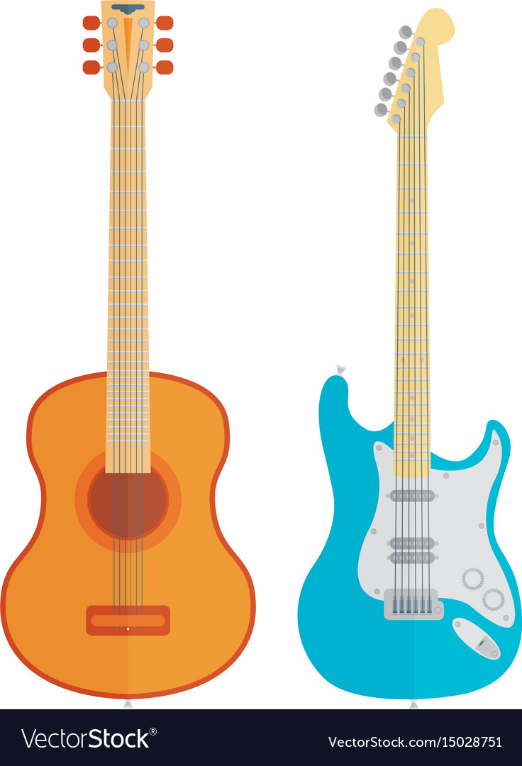 Guitars set
