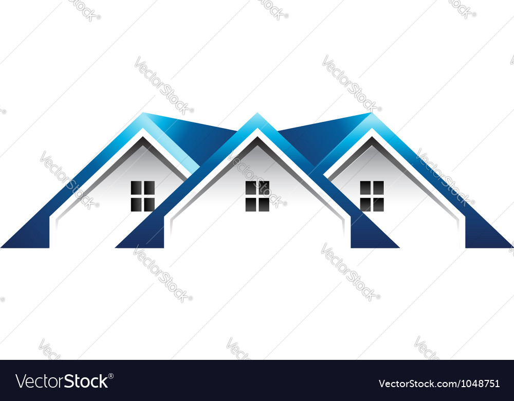 Roof houses logo