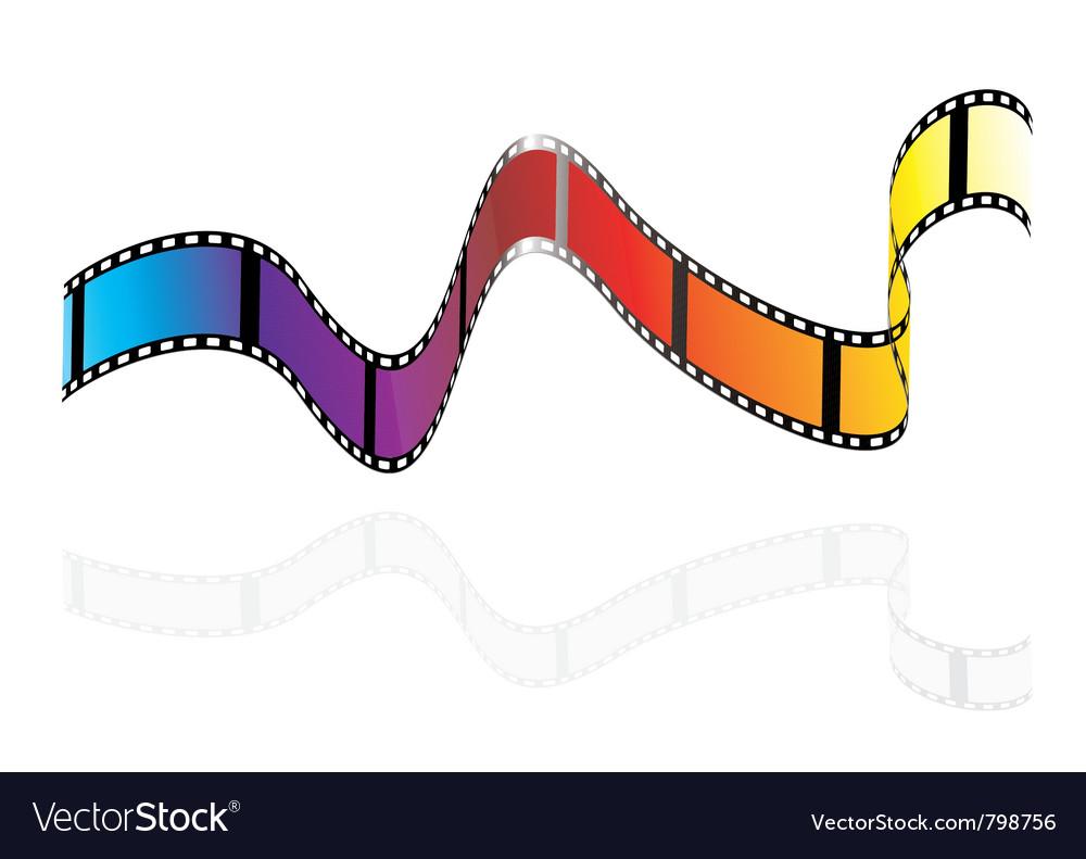 Brightly colours camera film
