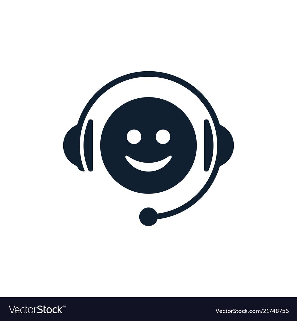 Call center emoticon