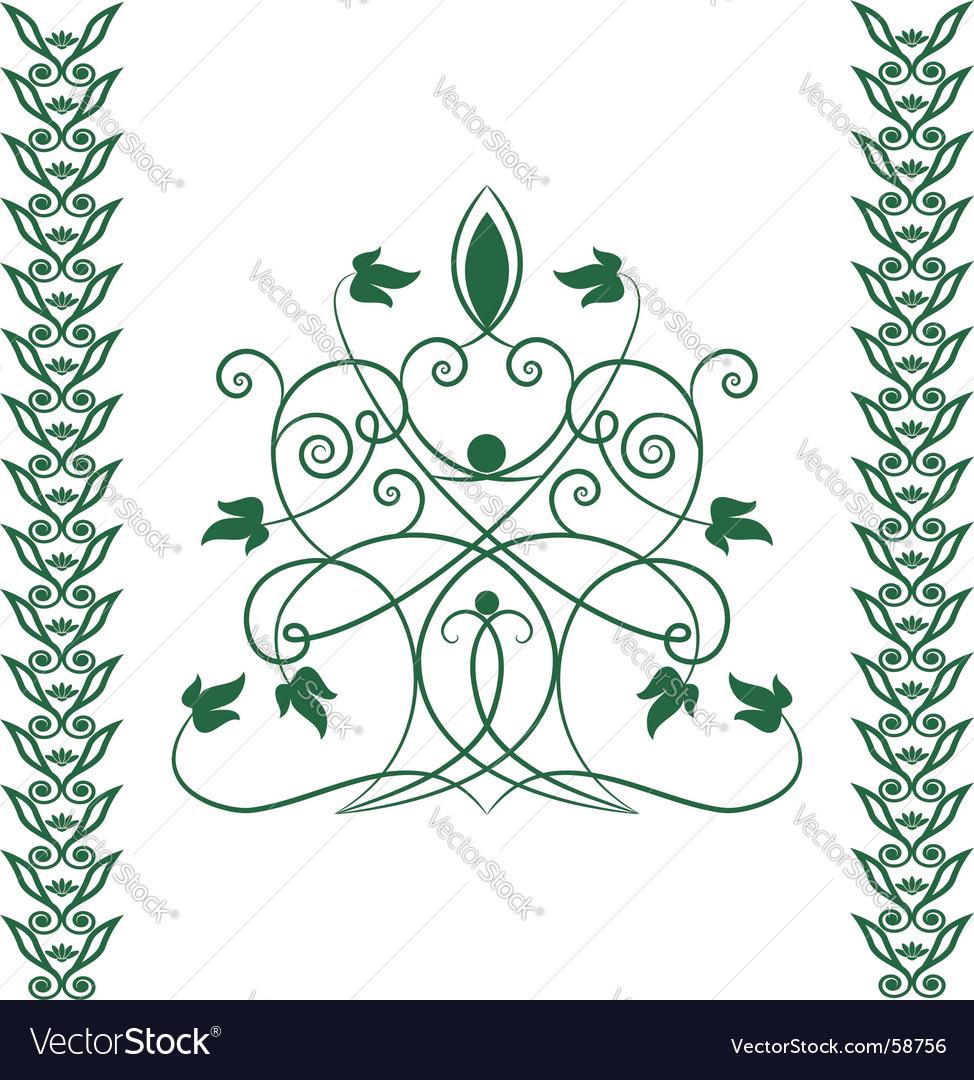 Celtic tree vector image