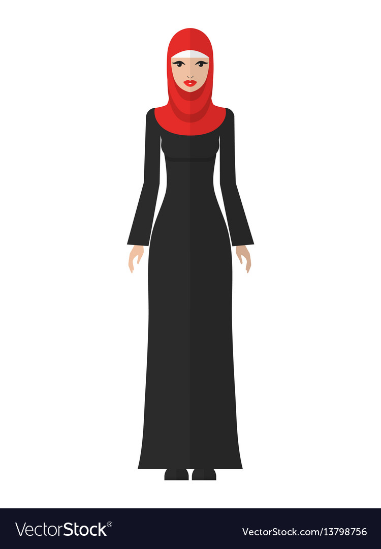 Flat of a young muslim woman