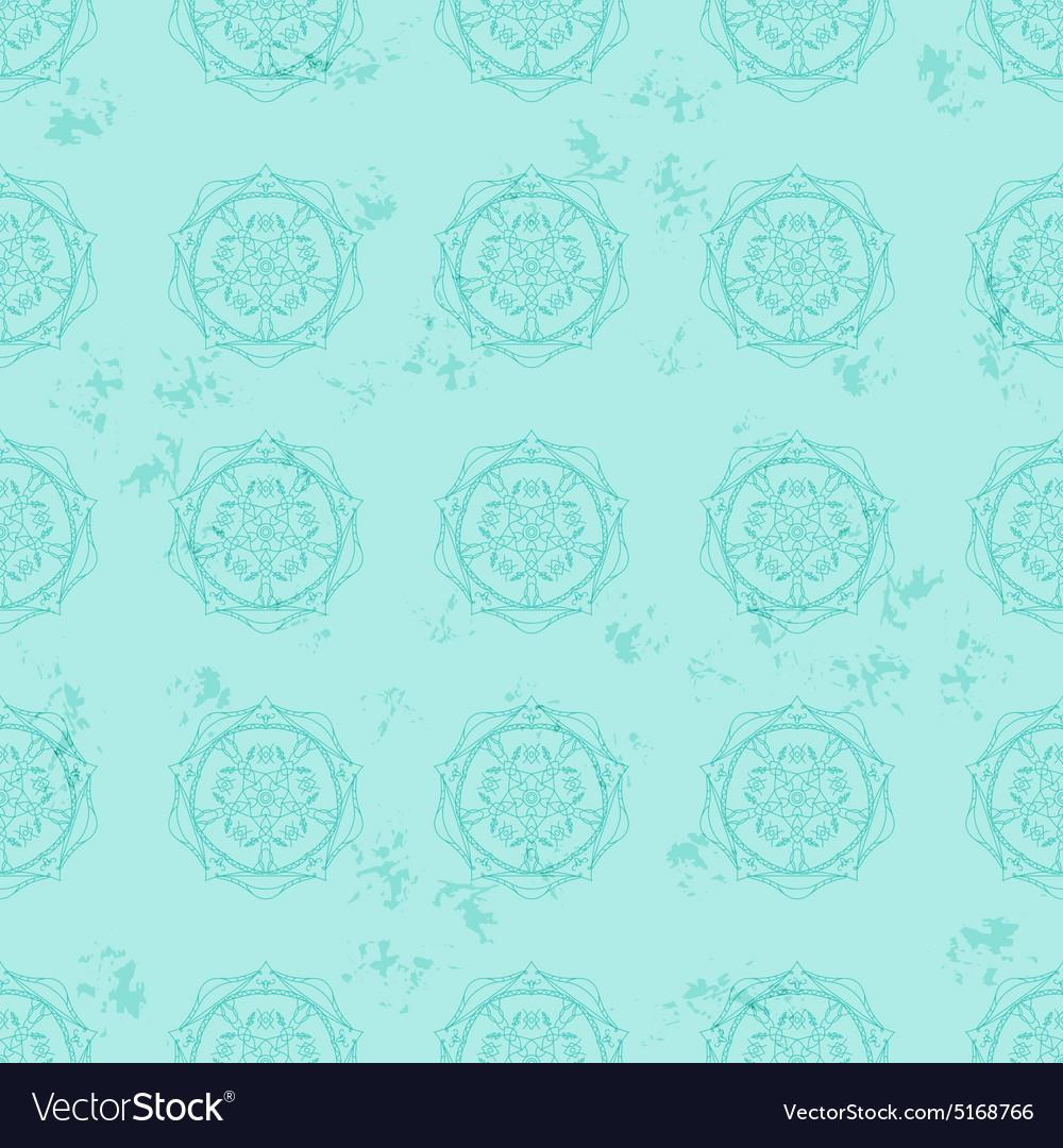 Ethnic pattern vintage style