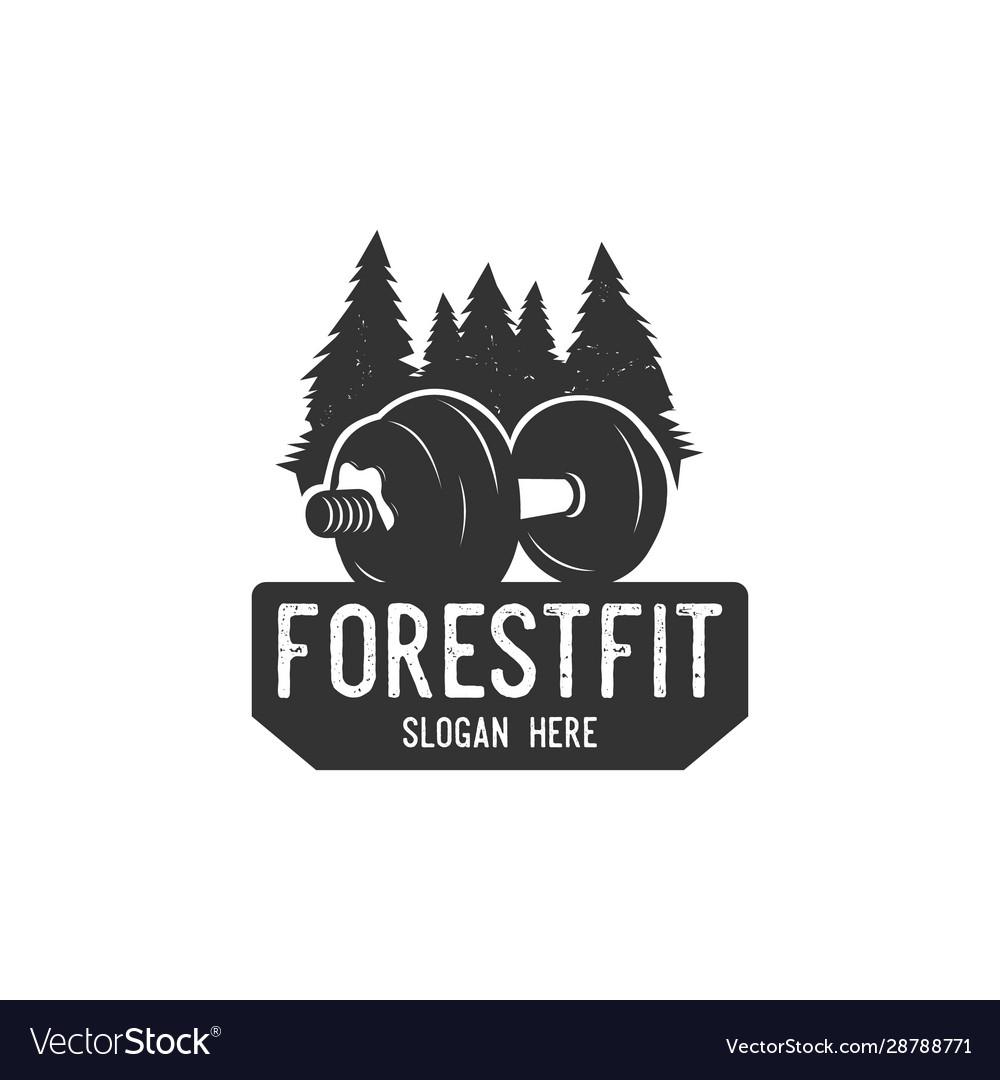 Forest fitness logo