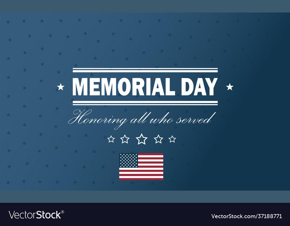 Usa memorial day holiday back