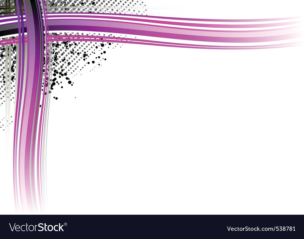 blank sheet with decorative corner royalty free vector image