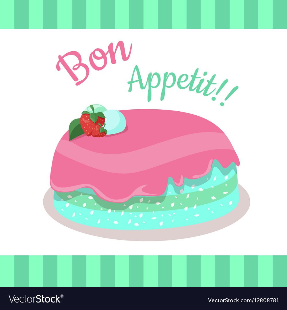 Bon Appetit Festive Cake Web Banner Chocolate
