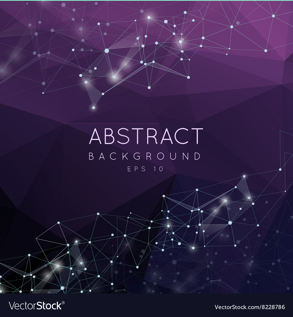 Abstract 3d polygonal background Low poly